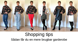 Stylecoach Gitte M Shopping tips