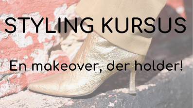 Stylingkursus en makeover der holder
